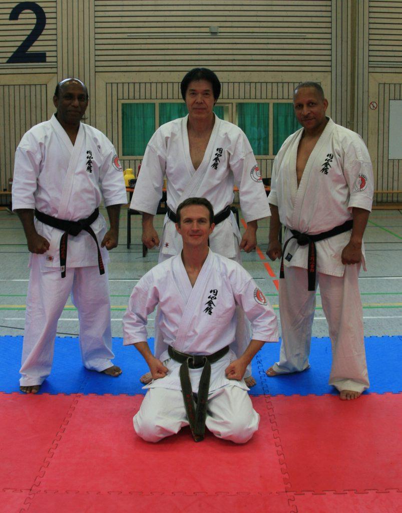 Sensei Jan Reichert erhielt den 5. Dan