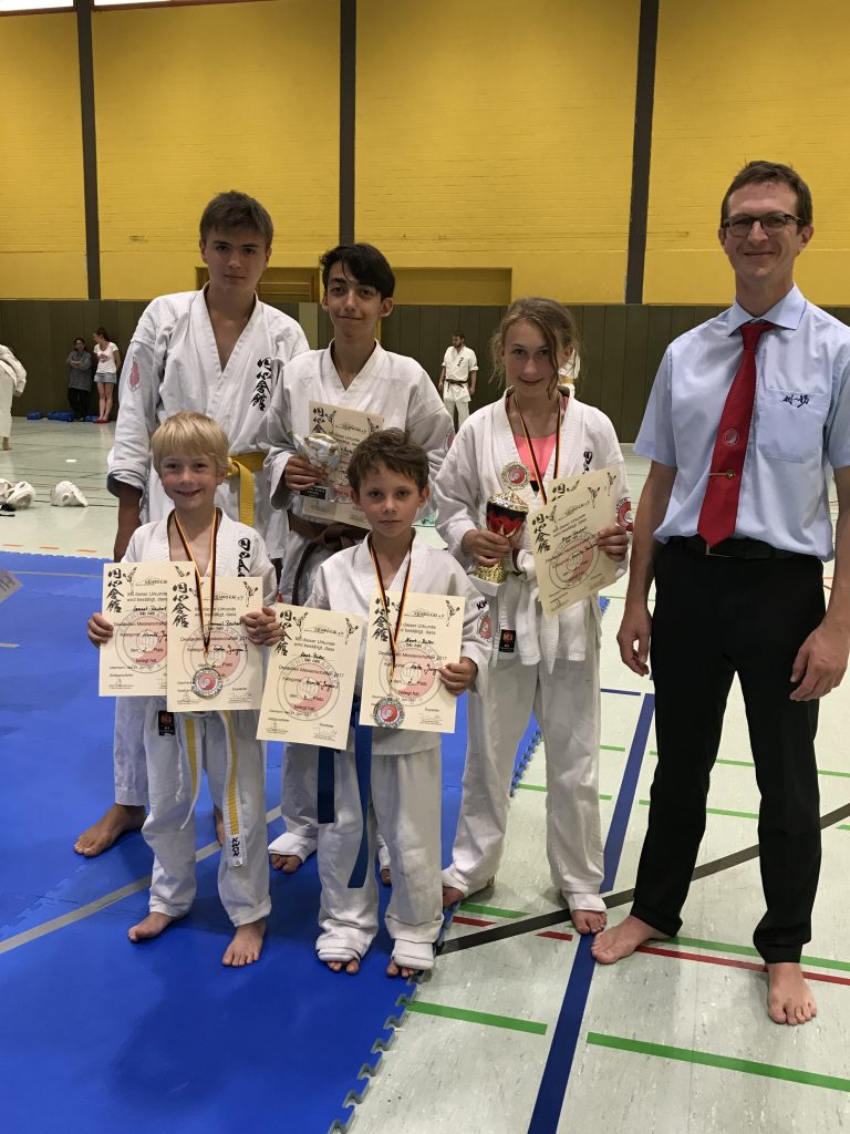 Deutsche Vollkontakt-Meisterschaft im Enshin Karate Team Karlsruhe